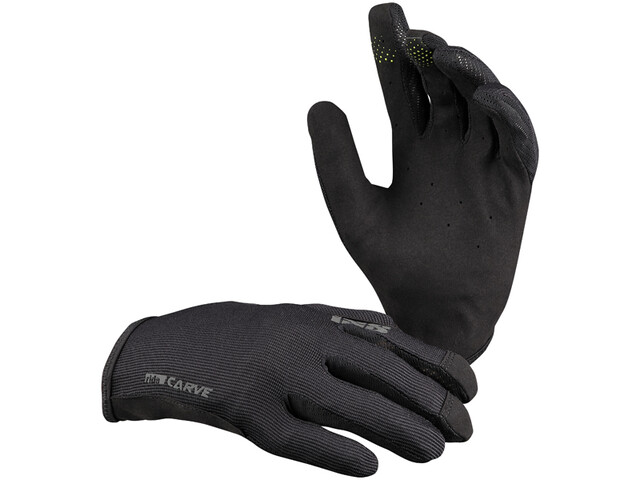 IXS Carve Gloves Kids, negro